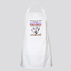 man crazy Apron