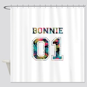 Bonnie and Clyde shirts Shower Curtain