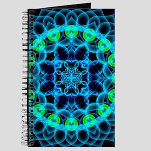 Ethereal Lotus Mandala Journal