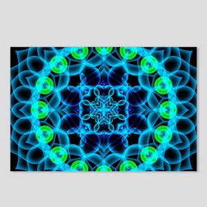 Ethereal Lotus Mandala Postcards (Package of 8)