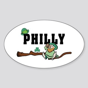 Philly Irish Oval Sticker