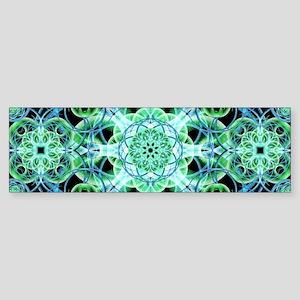 Ethereal Growth Mandala Bumper Sticker