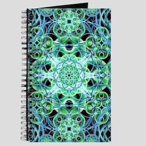 Ethereal Growth Mandala Journal