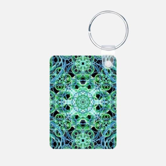 Ethereal Growth Mandala Keychains