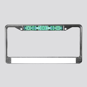 Ethereal Growth Mandala License Plate Frame