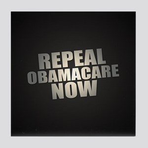 Repeal Obamacare Now Tile Coaster