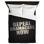 Repeal Obamacare Now Queen Duvet