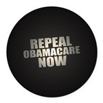 Repeal Obamacare Now Round Car Magnet