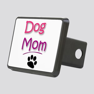 Dog Mom with Dog Paw Hitch Cover