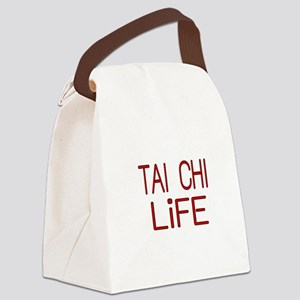 TAI CHI LiFE Canvas Lunch Bag
