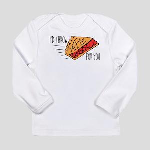 Throw Pie Long Sleeve Infant T-Shirt