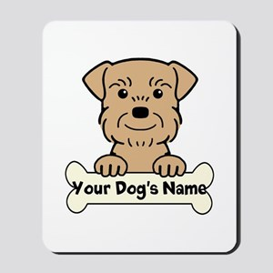 Personalized Border Terrier Mousepad