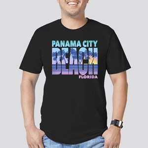 Panama City Beach Men's Fitted T-Shirt (dark)