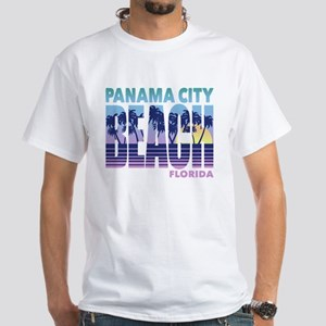 Panama City Beach White T-Shirt