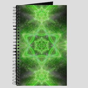 Emerald Star Mandala Journal