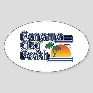 Panama City Beach Sticker (Oval)
