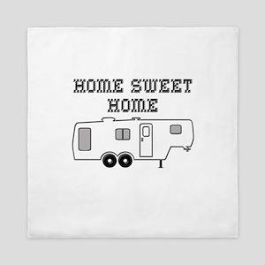 Home Sweet Home Fifth Wheel Queen Duvet