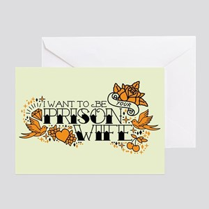 Prison Wife Greeting Card