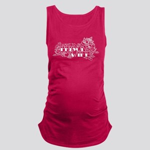 Prison Wife Maternity Tank Top