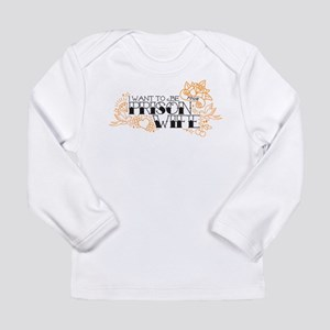 Prison Wife Long Sleeve Infant T-Shirt