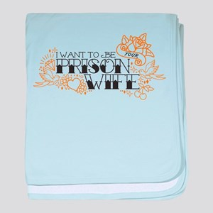 Prison Wife baby blanket