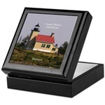 Copper Harbor Lighthouse Keepsake Box