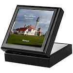Whitefish Point Lighthouse Keepsake Box