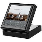 Tibbett's Point Lighthouse Keepsake Box
