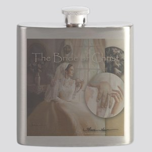 """The Bride of Christ"" Flask"