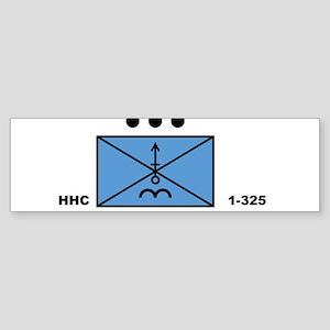 MORT Platoon, HHC, 1-325 Bumper Sticker