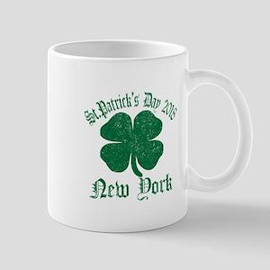 St.Patrick's Day 2018 New York Mugs