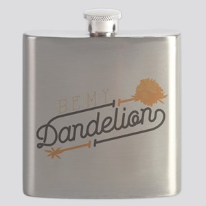 Be My Dandelion Flask