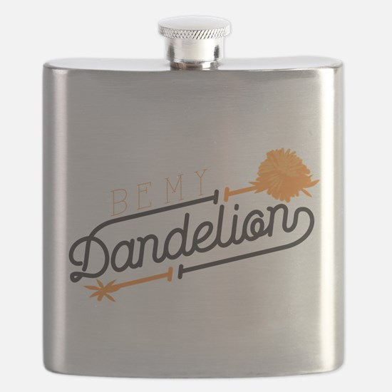 Be My Dandelion Flask