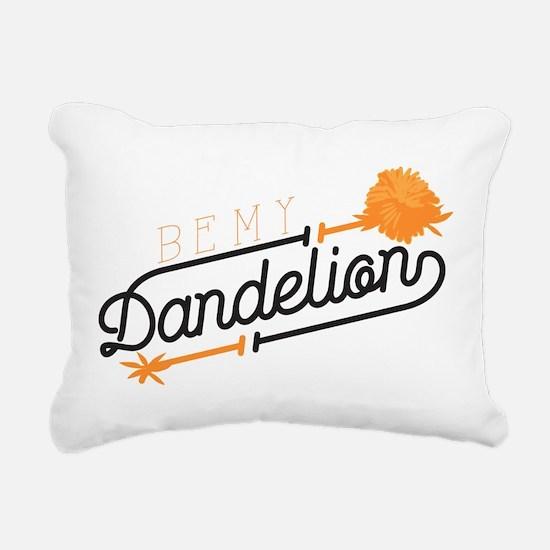 Be My Dandelion Rectangular Canvas Pillow