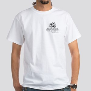 Books are the compasses<br> White T-Shirt