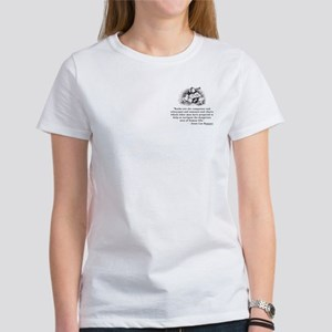 Books are the compasses<br> Women's T-Shirt