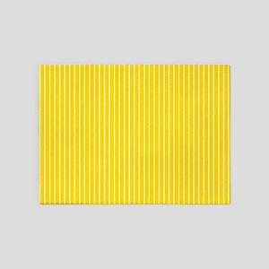 Sports Yellow 5'x7'Area Rug