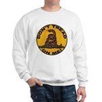 Don't Tread on Me-Circle Sweatshirt