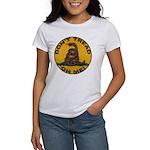 Don't Tread on Me-Circle Women's T-Shirt