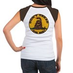 Don't Tread on Me-Circle Women's Cap Sleeve T-Shir