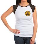 Don't Tread on Me-Circle Women's Cap Sleeve T-Shir