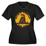 Don't Tread on Me-Circle Women's Plus Size V-Neck