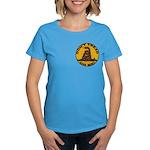 Don't Tread on Me-Circle Women's Dark T-Shirt
