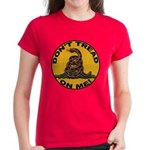 Don't Tread on Me-Circle Women's Dark T-Shirt