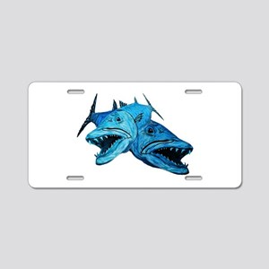 CUDAS Aluminum License Plate