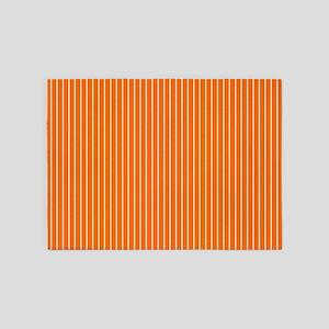 Sports orange 5'x7'Area Rug