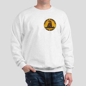 Don't Tread on Me-Circle Sweatshirt