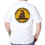Don't Tread on Me-Circle Golf Shirt