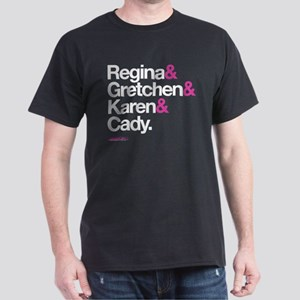 Mean Girls Character Names Dark T-Shirt