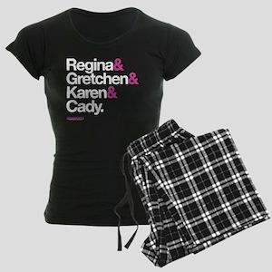 Mean Girls Character Names Women's Dark Pajamas